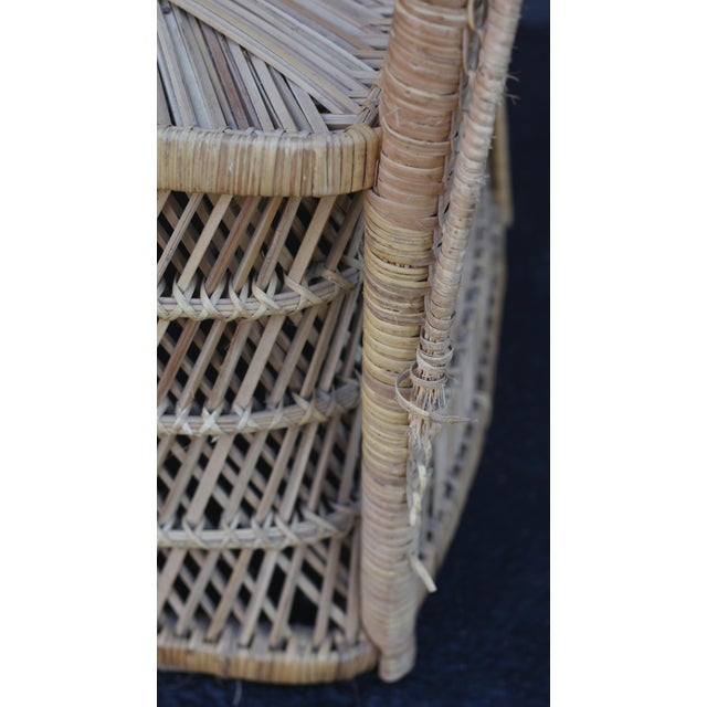 Vintage Rattan Porter Chair - Image 9 of 9