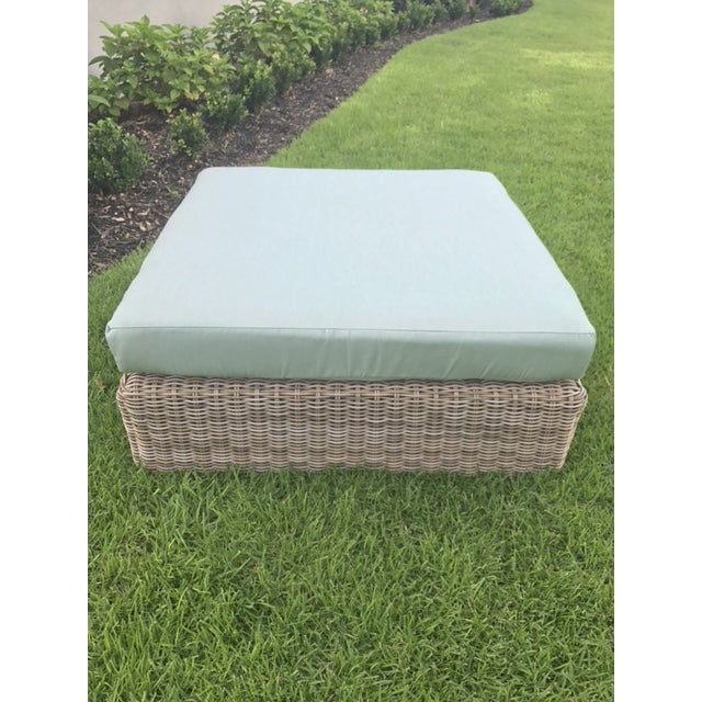Kingsley Bate Outdoor Ottoman - Image 2 of 8