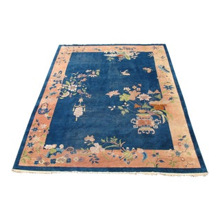 Hand Knotted Chinese Art Deco Area Rug - 9' x 12'