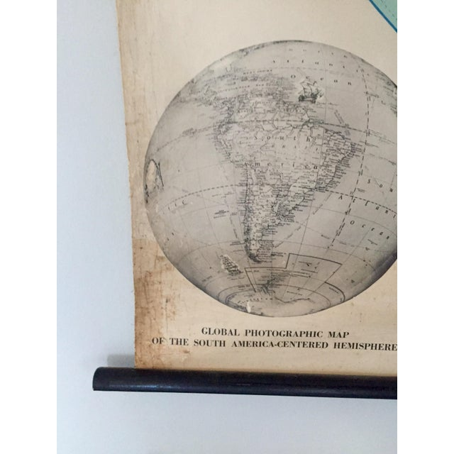 1945 Vintage 1st Edition South America School Map - Image 7 of 9