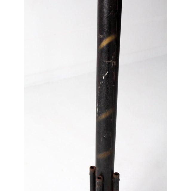 Image of Metal Standing Coat Rack