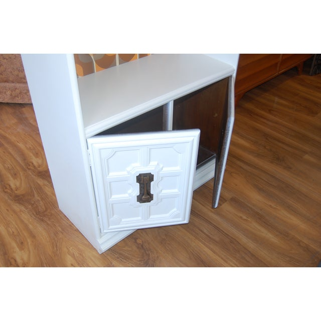 Painted Mid Century Shelving Unit - Image 6 of 8