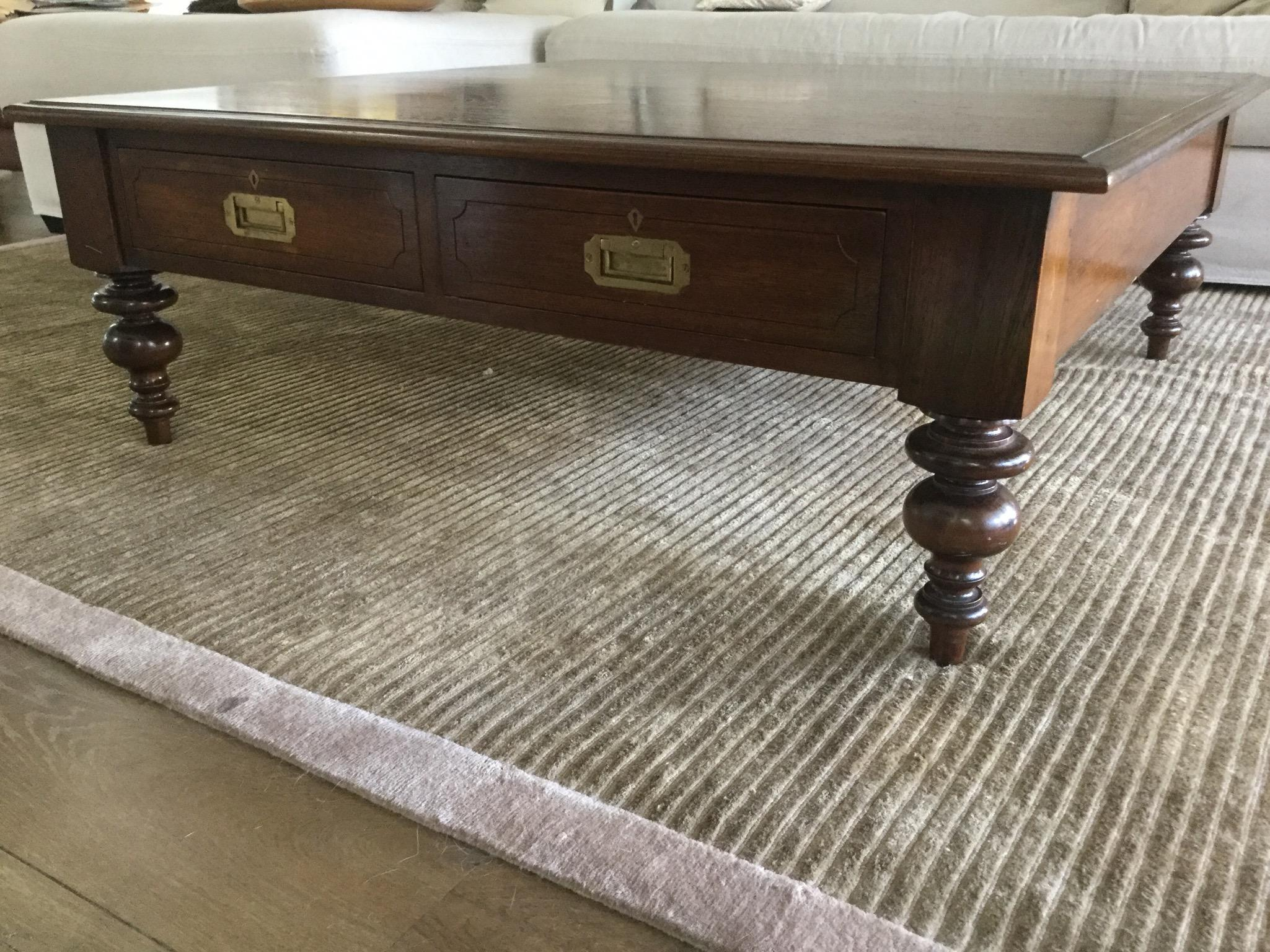 Coffee table home collections furniture tables bedford coffee table - Robert Lighton Quot Fritchley Quot Coffee Table Chairish