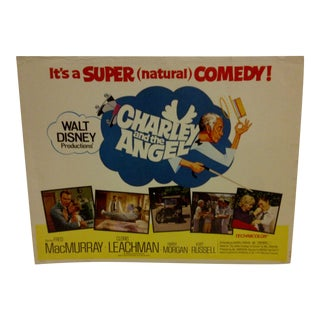 "1973 Vintage Movie Poster of ""Charley and the Angel"""