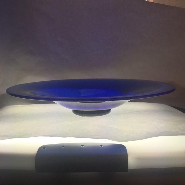 Scandinavian Art Glass Signed Bowl - Image 7 of 8