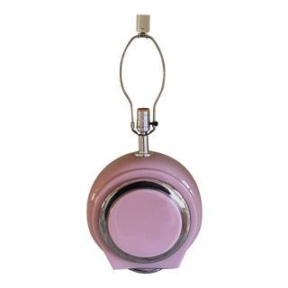 Mid-Century Retro Pink Lamp