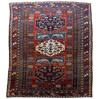 Extraordinary Early 20th Century Caucasian Rug