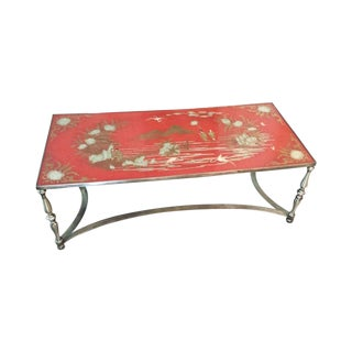 Vintage Trouvailles Chinoiserie Cocktail Table