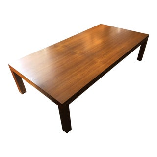 Mid-Century Teak Centrum Mobler Coffee Table