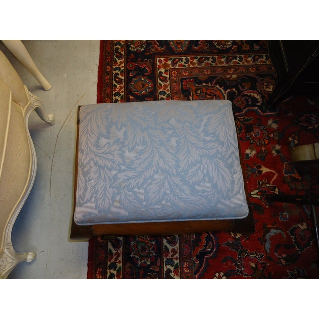 Antique Walnut Foot Stool - Image 5 of 5