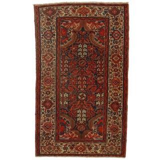 Persian Malayer Wool Rug - 3′11″ × 6′6″