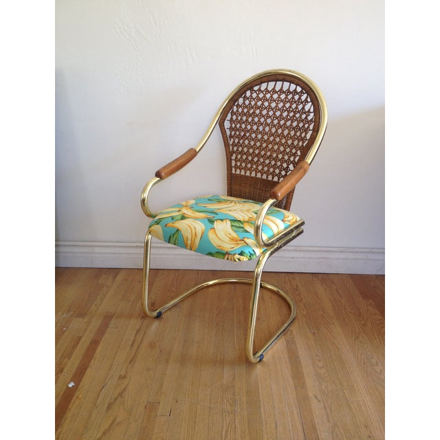 Image of Tropical Bassett Cantilever Dining Chair- Set