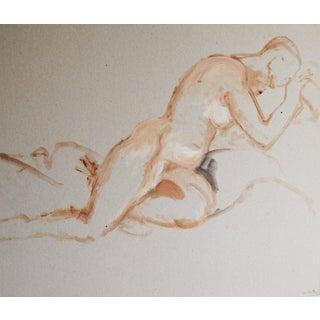 Gouache Figurative Drawing