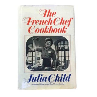 "Signed ""The French Chef Cookbook"" - Julia Child"