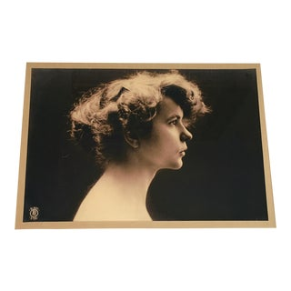 Framed 1920s Glamor Photograph of Young Lady