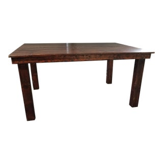 Antique Handmade Farmhouse Wood Table