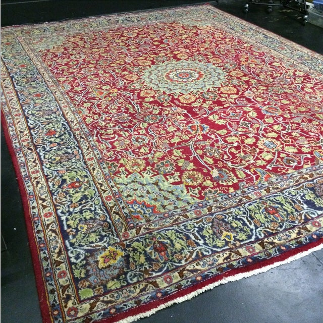 Large Traditional Persian Rug - 12′4″ × 9′6″ - Image 3 of 11