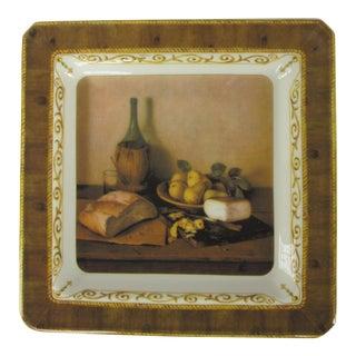 Italian Still Life Cheese Plate