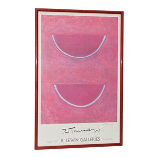 "Rufino Tamayo ""Watermelon"" Pencil Signed Exhibition Poster c.1980s"