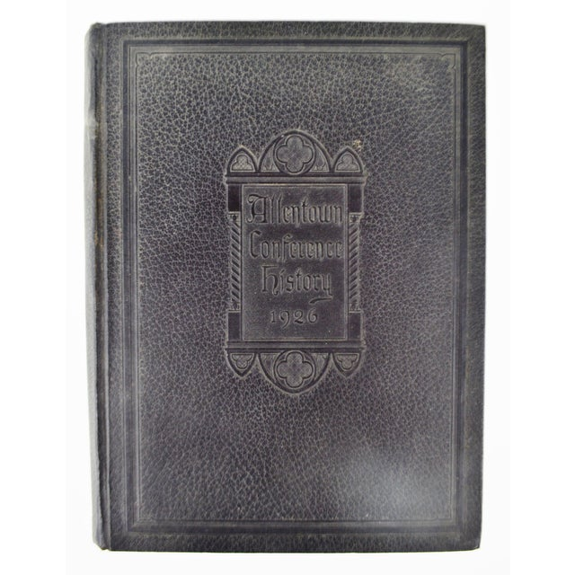 1926 Allentown Conference Hardcover History Book - Image 10 of 10