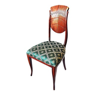 Scallop-Carved Side Chair