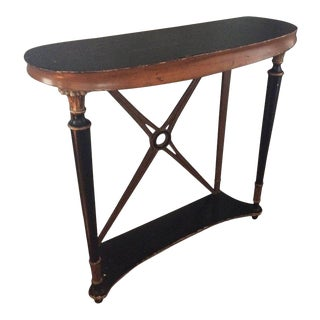 Biedermeier-Style Regency Console Table