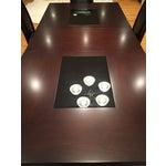Image of Raymour & Flanigan Brown & Black Dining Set