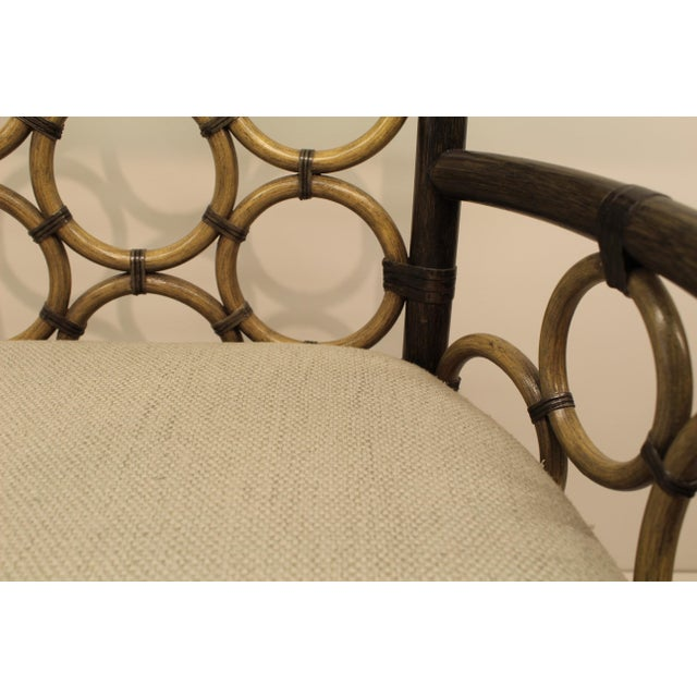 McGuire Laura Kirar Ring Arm Chair - Image 5 of 6