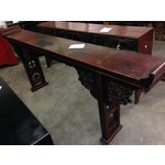 Image of Asian Antique Carved Altar Table