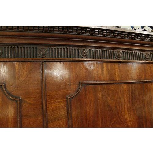 18th Century George III Period Linen Press - Image 4 of 8