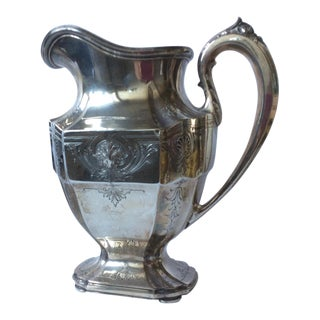 Grogan Sterling Silver Water Pitcher