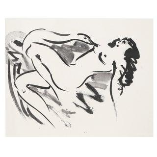 'Leda & the Swan IV' Reuben Nakian Etching