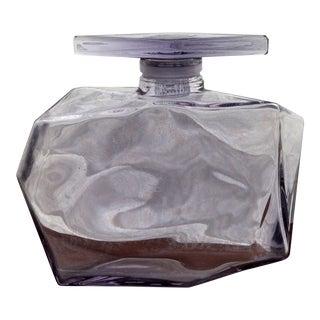 Vintage Purple Display Perfume Bottle