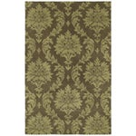 Image of Kaleen Brighton Spa Rug, Chocolate - 8' x 11'