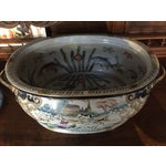 Image of Antique Chinoiserie Gilt Chinese Foot Bath