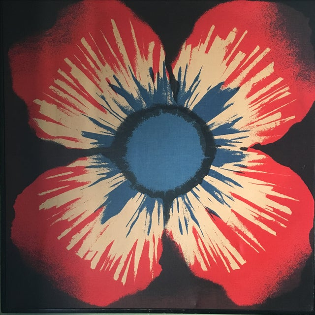 Original Tom Tru Vintage Poppy Sreen Print - Image 3 of 9