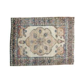 "Antique Kerman Rug - 3'10"" x 5'4"""
