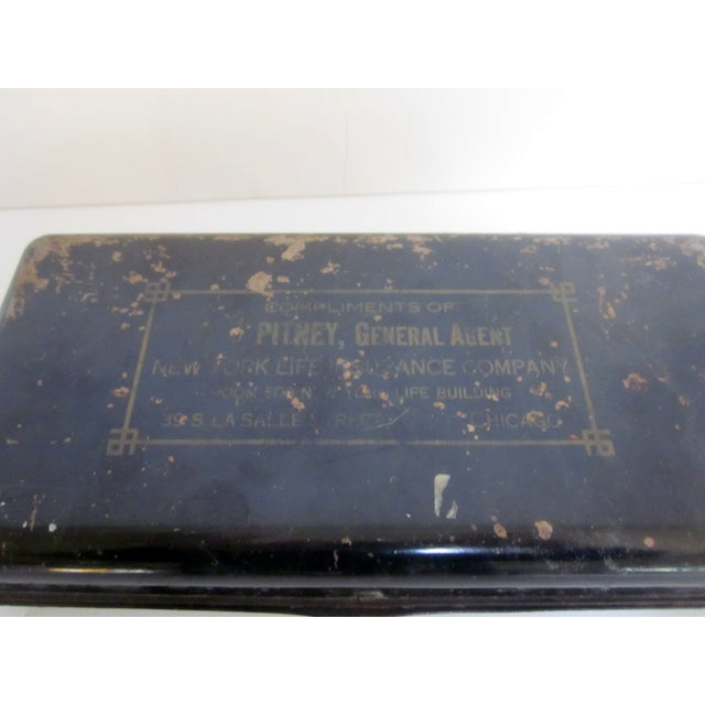 Image of Industrial Chic Metal Box Pitney Chicago