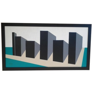 Hard-Edge Abstract by Rick Orr