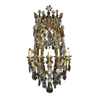 Antique Chandelier. Crystal Chandelier
