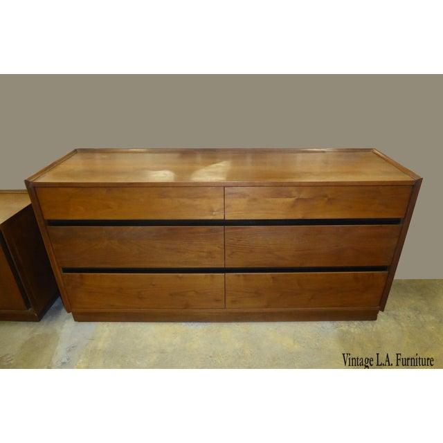 Vintage Dillingham Mid-Century Danish Modern Dresser - Image 11 of 11