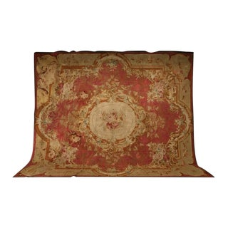 Circa 1830 Palatial French Aubusson Rug - 12′ × 14′1″