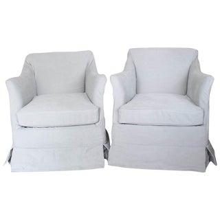 Am Designs Mark Club Chairs Handmade - A Pair