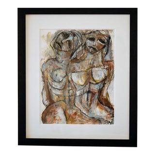 """Sisters"" Painting by Carl Karni-Bain"