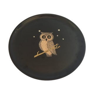 Couroc Owl Tray