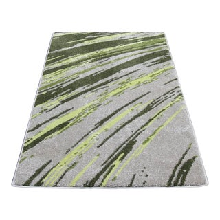 "Abstract Striated Stripes Rug - 6'8"" x 10'"
