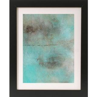 """Mileu"" Textured Abstract Mixed Media Painting"