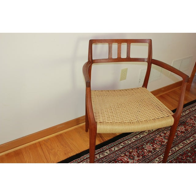 JL Moller #64 Arm Chair - Image 4 of 6