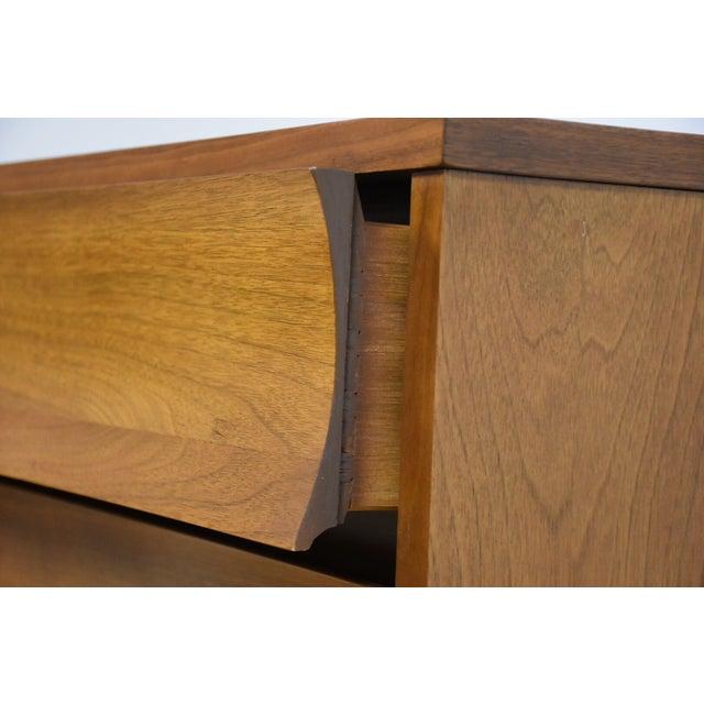 Image of Johnson Carper Walnut and Formica Dresser