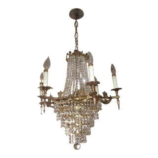 Vintage French Empire Style Chandelier